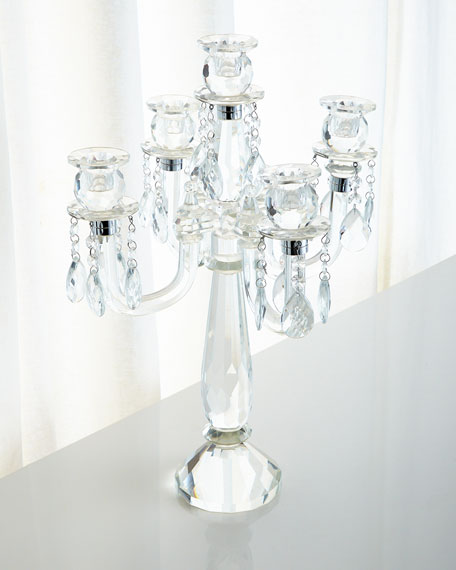 Godinger Five-Arm Candelabrum with Drops