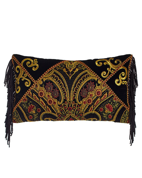 Sweet Dreams Marrakesh Pillow with Fringe, 23