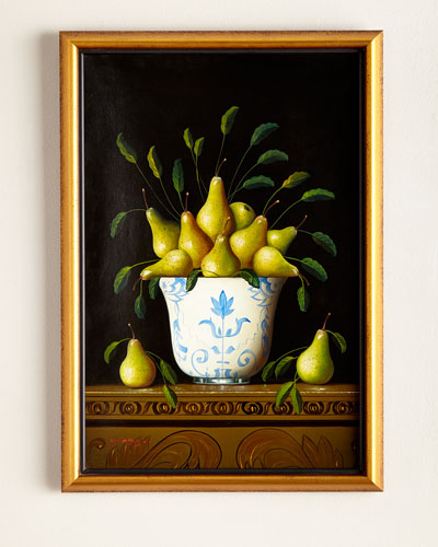 """Pears"" Painting"