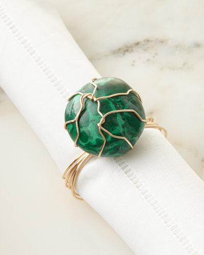 Malachite Napkin Ring