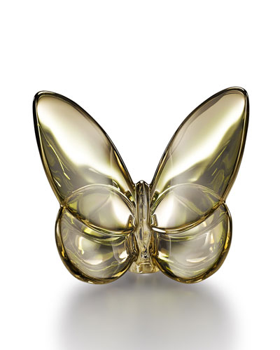 Golden Lucky Butterfly