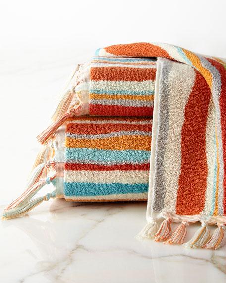 Dena Home Kaiya Stripe Face Cloth