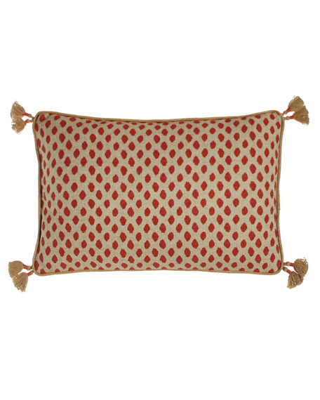 Lacefield Designs Sahara Geranium Pillow, 13