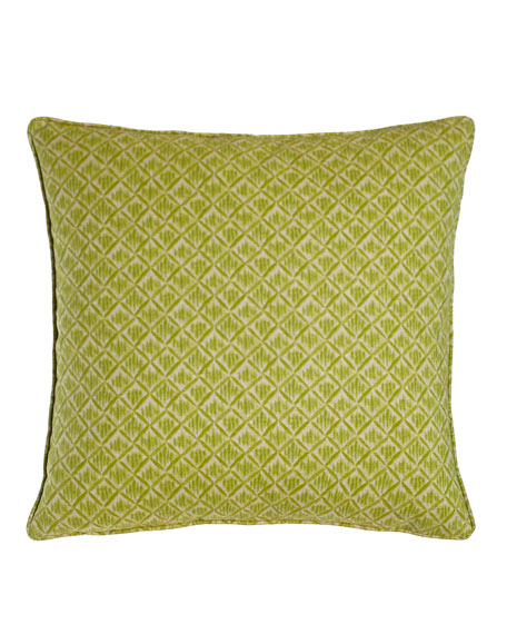 Lacefield Designs Kimono Honeydew Green Pillow, 20