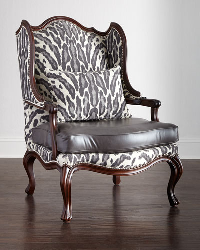 Zahara Leather Chair