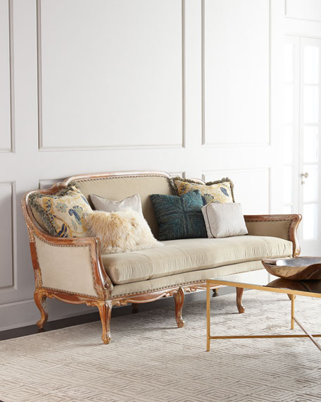 Massoud Twilight Sofa Neiman Marcus