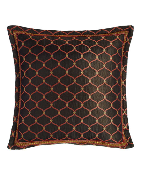 """Royale Flanged Ogee Pillow, 18""""Sq."""