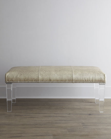 "Serendipity 60""L Bench"