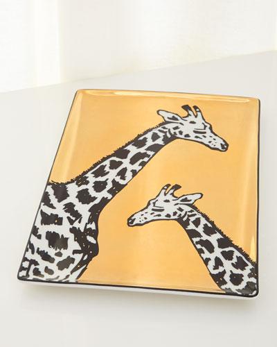 Animalia Giraffe Tray