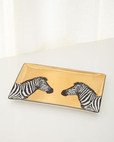 Animalia Zebra Tray