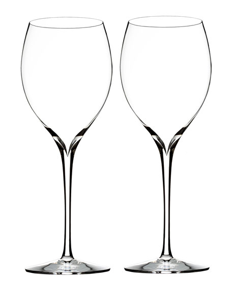 Waterford Crystal Elegance Chardonnay Wine Glasses, Set of