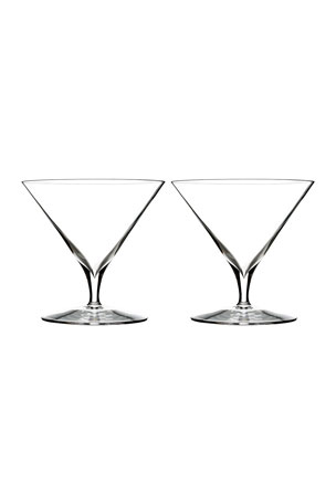 Waterford Crystal Elegance Martini Glasses, Set of 2