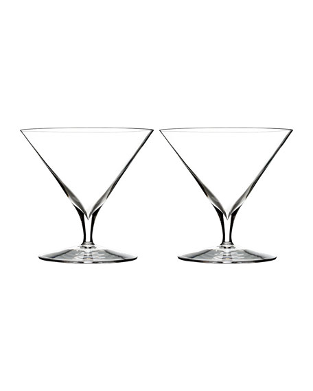 Elegance Martini Glasses, Set of 2