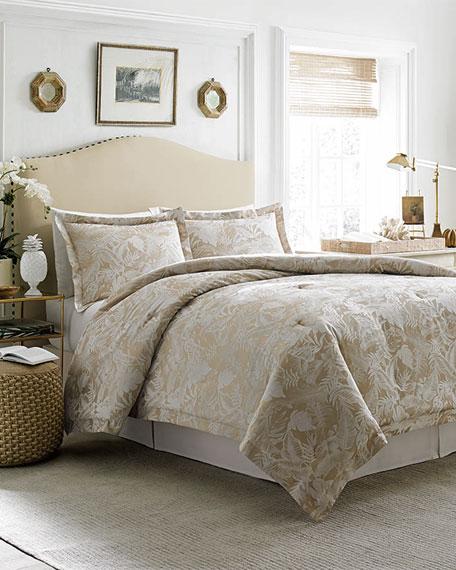 Queen Mangrove 4-Piece Comforter Set