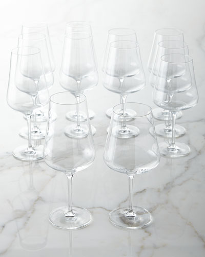 Tritan Crystal Wine Glasses, 12-Piece Set