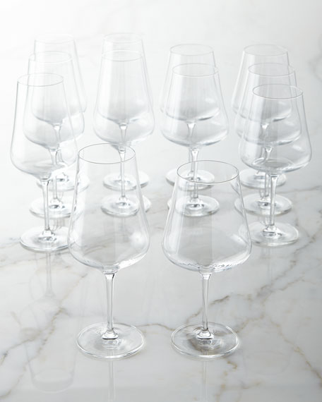 Fortessa Tritan Crystal Wine Glasses, 12-Piece Set