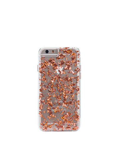 Rose Gold Karat iPhone 6 Plus Case