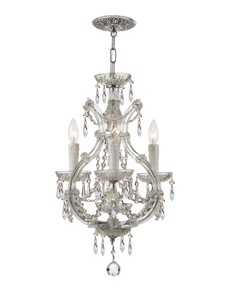 Swarovski Crystorama Maria Theresa 4-Light Elements Crystal
