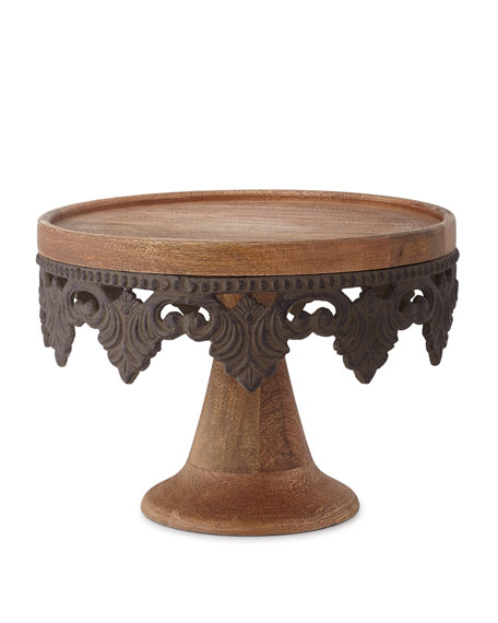 "Antiquity 12.5"" Serving Pedestal"