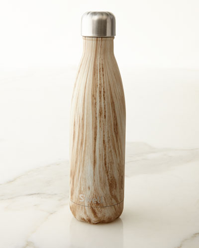 Blonde Wood 17-oz. Reusable Bottle