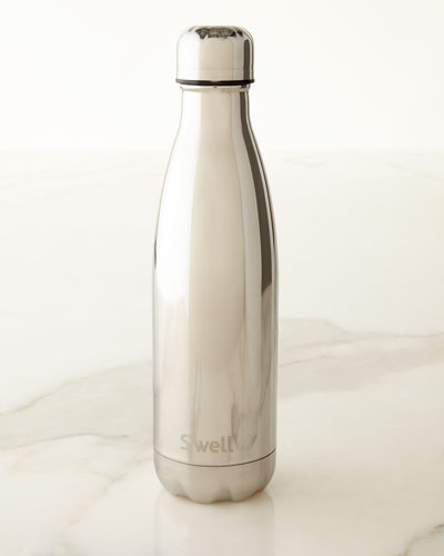 White-Gold Metallic 17-oz. Reusable Bottle