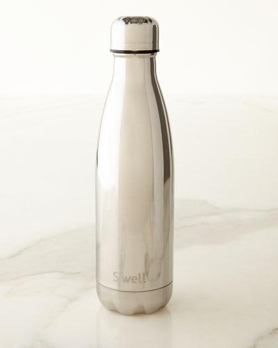 White-Gold Metallic 17-oz. Reusable Bottle