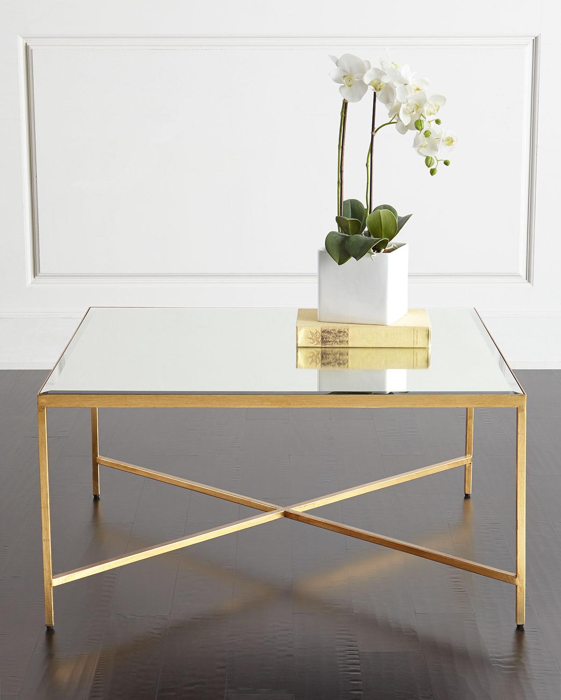 Larissa Mirrored Coffee Table