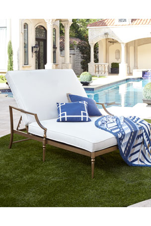 Sophia Outdoor Double Chaise