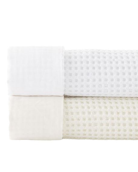 Annie Selke Luxe Queen Chialda Blanket