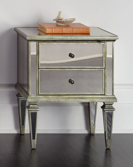 HAYWORTH MIRRORED CHEST
