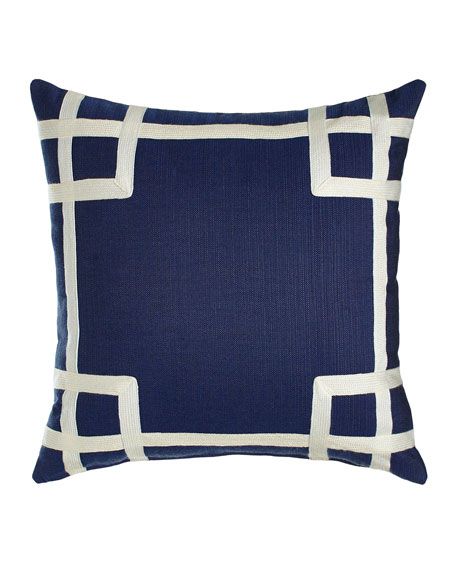 Navy Rio Outdoor Pillow