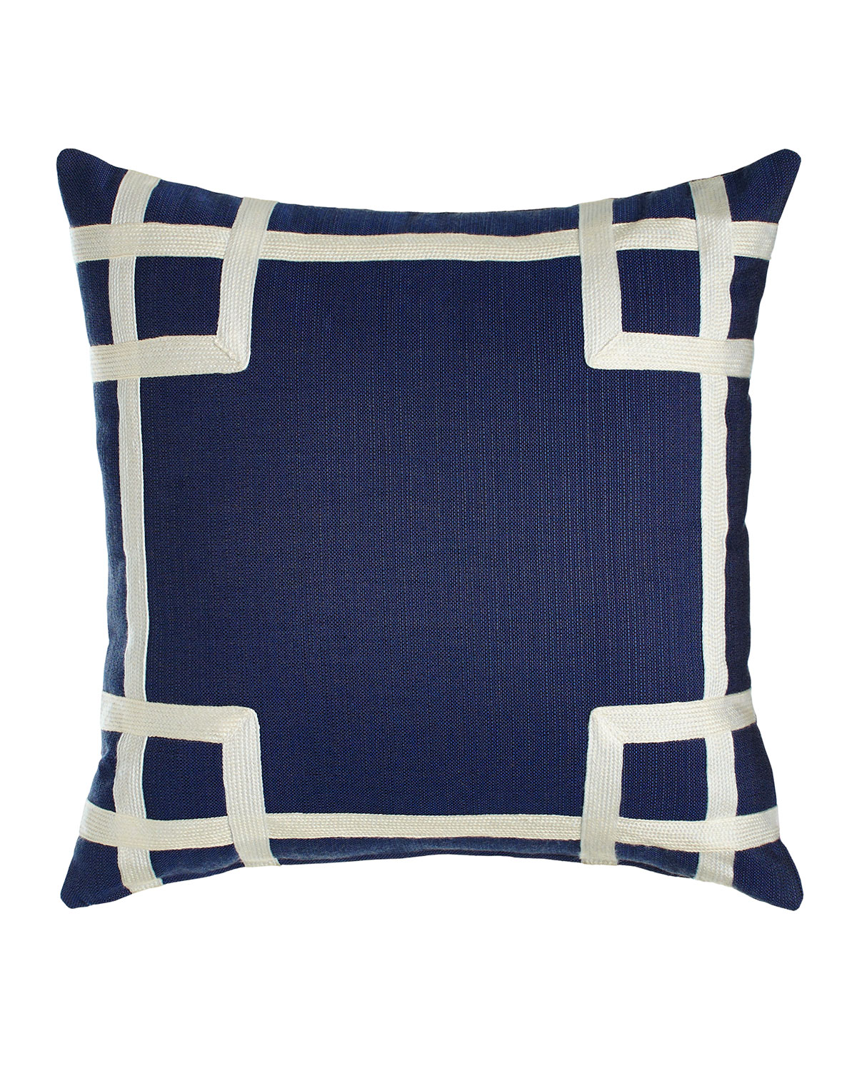 Lacefield Designs Navy Outdoor Pillows Matching Items Neiman Marcus
