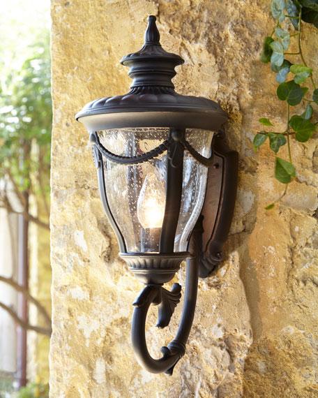 Neimanmarcus Anise 1-Light Outdoor Wall Scone