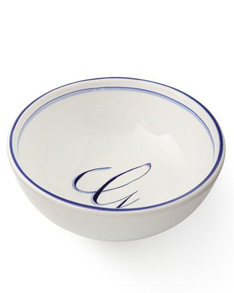 Abbiamo Tutto Monogrammed Cereal Bowl