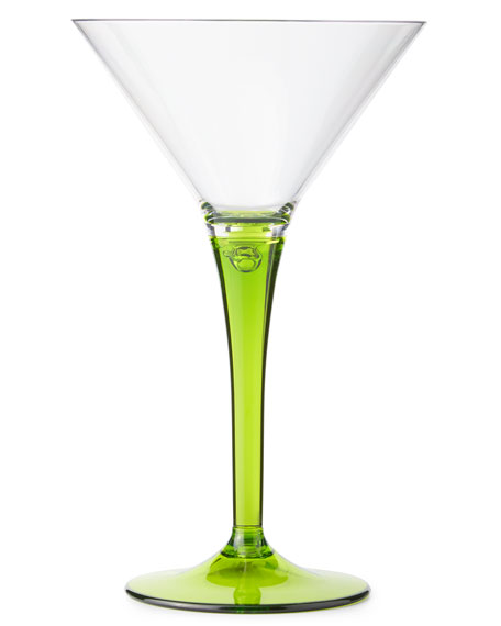 Colorful Martini Glasses, Set of 4