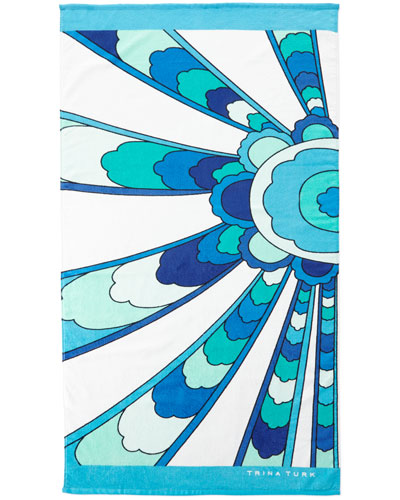Sunrays Beach Towel, 36
