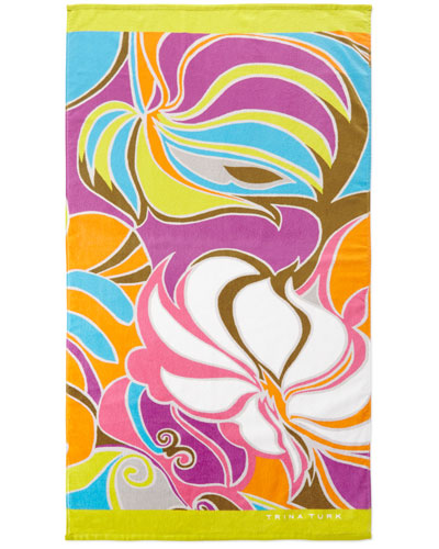 Island Swirl Beach Towel, 36