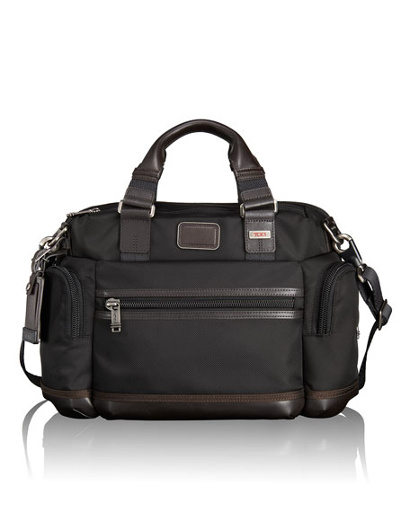 Tumi Hickory Alpha Bravo Brooks Slim Brief