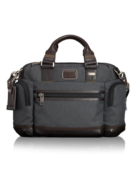 Tumi Anthracite Alpha Bravo Brooks Slim Brief