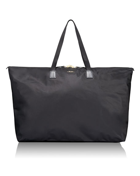 TUMI Black Voyageur Just In Case Travel Duffel