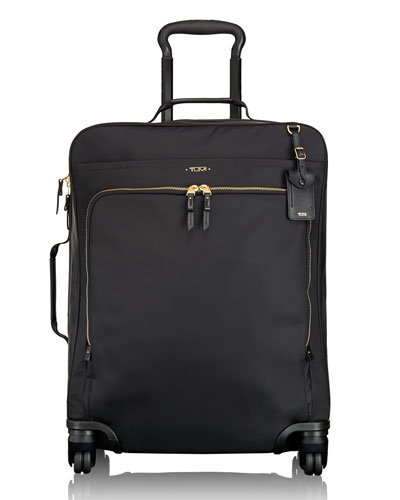 Black Voyageur Super Leger Continental Four-Wheeled Carry-On