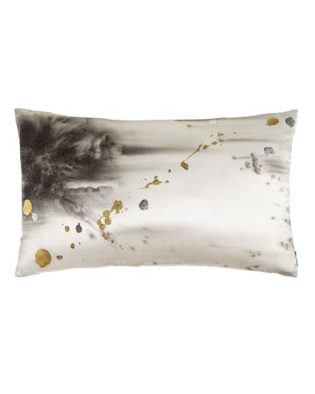 Aviva Stanoff Silver-Gray Pillows