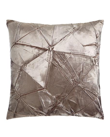 Aviva Stanoff Cobble Facet Pillow