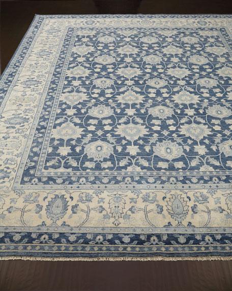 Blue Lark Rug, 9' x 12'