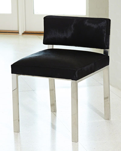 Black Royal Gown Chair