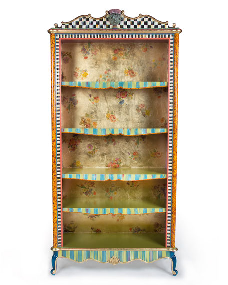 MacKenzie-Childs Arlecchino Bookcase