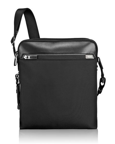 Tumi Arrive Black Lucas Crossbody