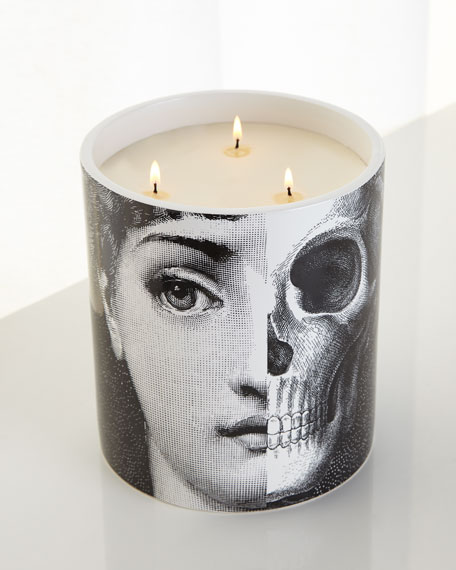 Fornasetti Three-Wick R.I.P. Candle
