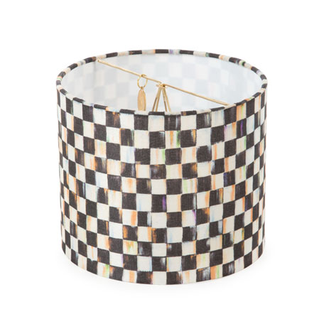 Courtly Check Drum Chandelier Shade