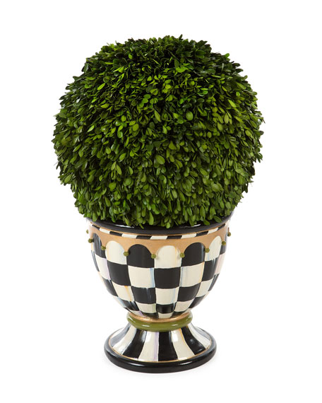 MacKenzie-ChildsArchitect's Topiary Urn